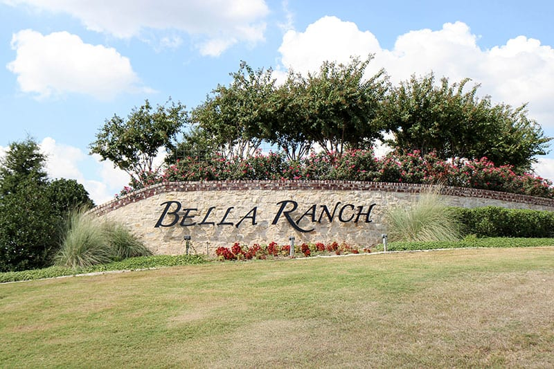bella ranch entrance